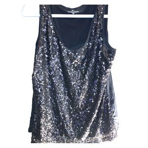 Sequin tank from NY&Co